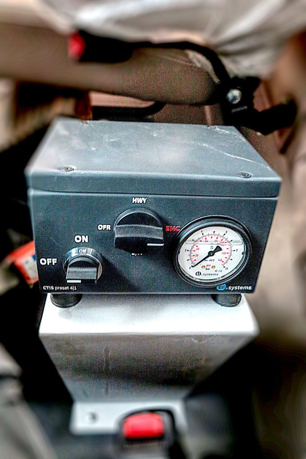 CTISr user control unit