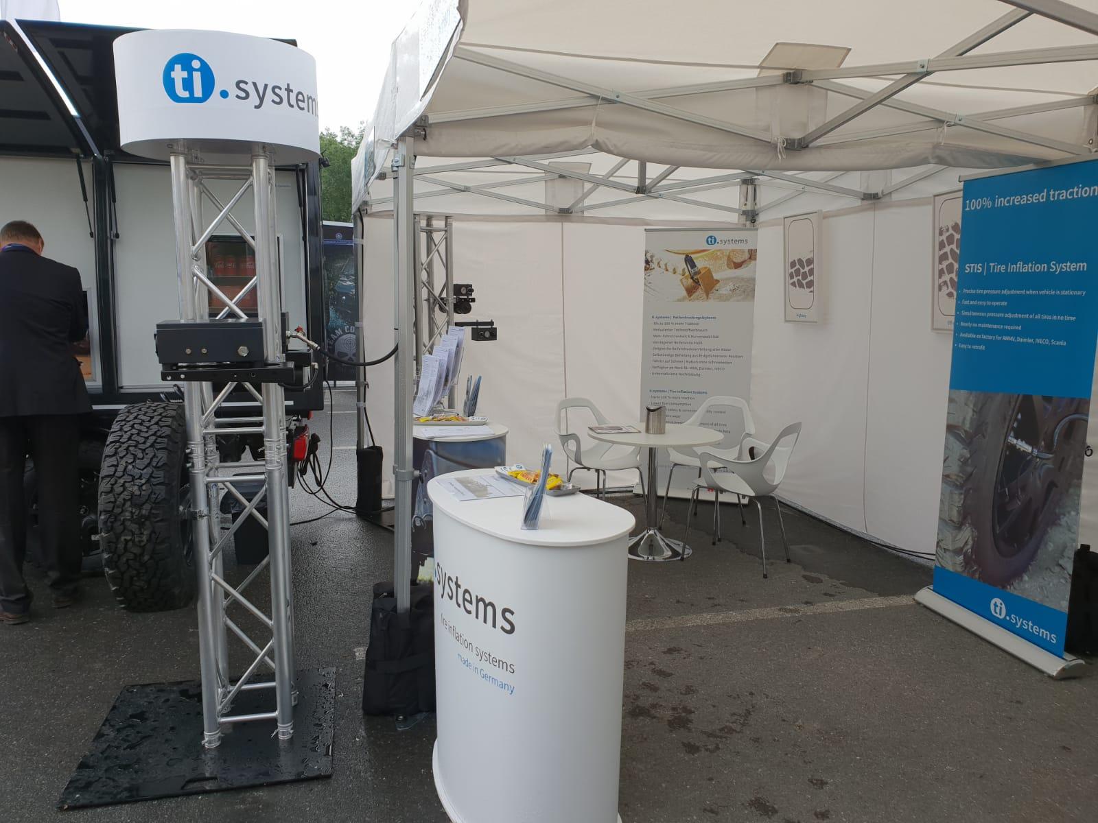 Eurosatory 2018 ti.systems booth 1