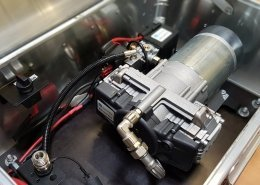 zarges case inside with ti.systems AIR SUPPLY compressor-system
